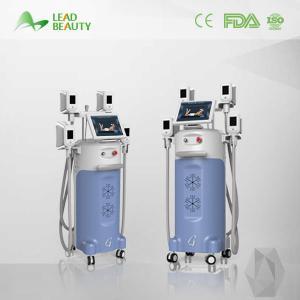 4 handles cryolipolysis cool shape machine weight loss machine