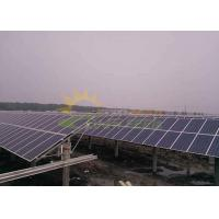 Wholesale Steady Structure Solar PV Mounting Systems Light Weight Aluminum Alloy 6005 T5 from china suppliers