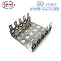 Wholesale 10 Pairs 5 Ways Stainless KRONE LSA Module Back Mounting Frame Silver Color from china suppliers