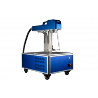 Wholesale Small Size 1.2mm Depth Fiber Laser Marking Machine from china suppliers
