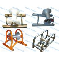 Best Cable Roller with Steel Plate Frame during cable laying work wholesale