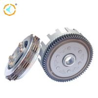 Steel Shinny Scooter Clutch Assembly , CD110 Motorcycle Engine Clutch for sale