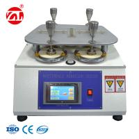 Wholesale ASTM D4970 Touch Screen Texitle Abrasion Resistance Testing Machine from china suppliers