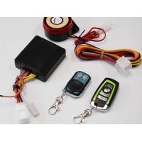 Wholesale Waterproof Motorcycle Remote Start Alarm with Microwave Sensor and Keyless driving from china suppliers