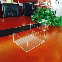 Wholesale customized acrylic display box acrylic cube box display from china suppliers