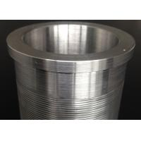 Best OD60 Water Pretreatment Wedge Wire Filter Non Obstructive Low Pressure Drop wholesale