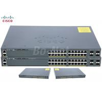 Wholesale LAN Base Used Cisco Switches , 3560X 3750X Ethernet Network Switch WS-C2960X-24TS-L from china suppliers