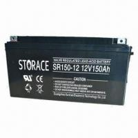 Buy cheap Lead-acid Battery with Wide Range of Capacities for UPS, Applied for Control from wholesalers