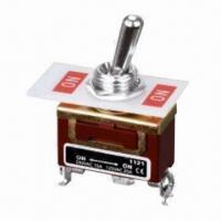 China SPDT Toggle Switch with 1 Pole and 2 Throws, Sealed Sub-miniature on sale