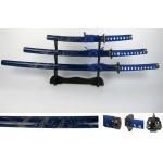 China hand made high quality  japanese samurai swords set dragon swords SS086 for sale