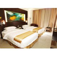Wholesale Wooden Modern Hotel Bedroom Furniture , King Size Bedroom Suite from china suppliers