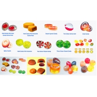 Wholesale 2020 Pure Fruit Hard Candy Processing Line for all kind of hard candy  (Apple,Strawberry,Lemon,Mango,Lichi etc.) from china suppliers