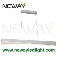 Wholesale Suspended LED Office Lighting Linear Decorative Hanging LED Lamp from china suppliers