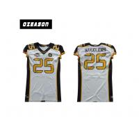 Wholesale Sublimated Youth Football Jerseys , Logo Custom College Football Jerseys from china suppliers