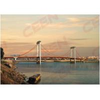 Guigang Tongji steel girder bridge launching for concrete beam movement and positioning