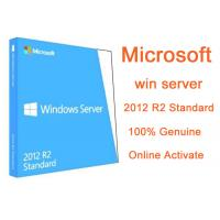 China MICROSOFT WINDOWS SERVER 2012 STANDARD R2 Full Version 2pc 64 bit Genuine Kеys and Download Instаnt Delivеry for sale