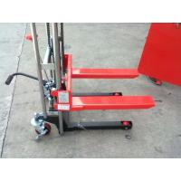 Wholesale Red color 3ton capacity manual stacker with good quality from china suppliers