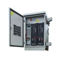 Integrated 10KVA Outdoor UPS System Double Conversion Online Design Waterproof