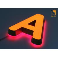 China Mini Acrylic 3D LED Channel Letter Signs for Advertising Energy Saving on sale