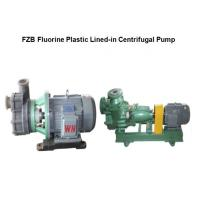 China FZB series anti-corrosive Self-Priming Centrifugal Pump for sale