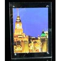 Wholesale Acrylic light box, illuminated poster frames from china suppliers