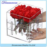 Wholesale Hot Sale Beautiful Fresh Custom Acrylic Flower Box from china suppliers