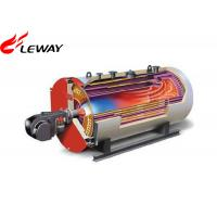 Wholesale 0.7MW Rated Oil Fired Hot Water Boiler , Oil Hot Water Heater Atmospheric Pressure from china suppliers