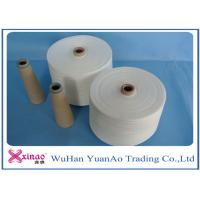 Wholesale 30S 100% Ring Spun Polyester Core Spun Yarn for Knitting , TFO Industrial Thread for Sewing from china suppliers