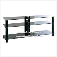 Wholesale Room Furniture Tempered Glass TV Stand TV Cabinet from china suppliers