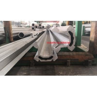 Buy cheap BMH2000 Type Feed Beam Aluminum Extrusion Profiles For Blasting from wholesalers