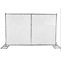 Wholesale Galvanized Chain Link Temporary Fence Panels For Overseas Market from china suppliers