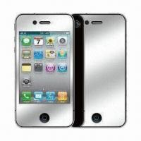 Wholesale High PET Dust-proof Mirror Effect Screen Protector for BlackBerry 9800 from china suppliers
