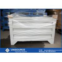 Buy cheap Material Handling Metal Pallet Boxes With Wheels , Stackable Pallet Cages from wholesalers