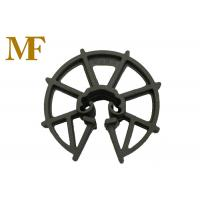 Formwork Reinforced Plastic Rebar Clip Spacer Wheel 15-50 mm Thickness for sale