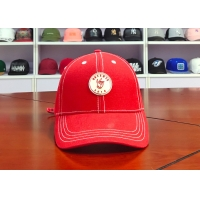 Wholesale ACE Men Women Solid Color Custom Rubber Patch Logo Baseball Sports Curve Peak Bill Cap Hat from china suppliers
