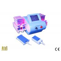 Buy cheap Blue ABS Case Lipo Laser Slimming Machine For Fat Burning With Imported Mitsubishi Diodes from wholesalers