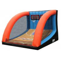 China Amusement Park Inflatable Sports Games Basketball Shootout PVC Material Waterproof for sale
