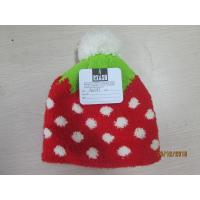Wholesale Grils and ladies Knitted hat with half face fabric materials jacquerd technology from china suppliers