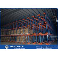 Wholesale Durable Heavy Duty Steel Shelving , Shuttle Storage System For Cold Room Storage from china suppliers