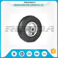 Wholesale Bent Valves Pneumatic Rubber Wheels 6 Inches Roller Bearing For Hand Trolley from china suppliers