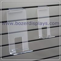 China Clear Acrylic Face Out Book Shelf for Slatwall for sale