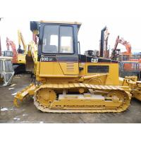 5 Shanks Ripper Used Crawler Bulldozer With PAT Blade Enclosed Cabin D3C for sale