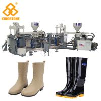 Wholesale Rain / Water Boot / Gumboot/ mineral worker boot Dual Injection MoldingMachine Rotary Type from china suppliers