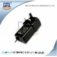 Wholesale Black Switching Adapter 12v , GME Power Adapter UK Plug 47Hz - 63Hz from china suppliers
