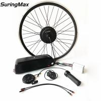 China High Power Electric Ebike Kit 48v 350w Brushless Gear Motor With 3 Years Warranty on sale