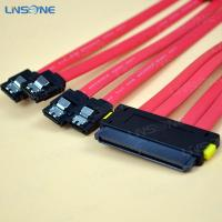 Wholesale SFF 8087 male SAS 32pin to 4SATA cable from china suppliers