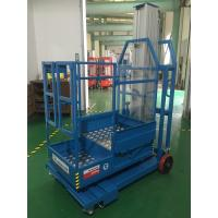 Wholesale 2.8m Mast Type Electric Order Picker , Semi - Electric Mobile Stock Picker from china suppliers