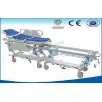 China Manual Hospital Ambulance Shower Trolley With Central Locking on sale