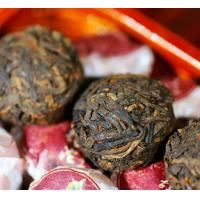Wholesale Organic Pu Erh Mini Tuo Cha , Cooked Yunnan Puer Tea Cake With Powerful Flavor from china suppliers