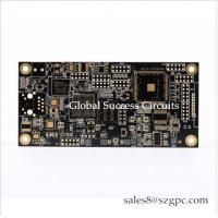 China PCBA maker HASL 1 OZ 10 layer double sided PCB Board Squre Board For car light for sale